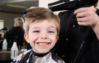 Father & Child Haircut